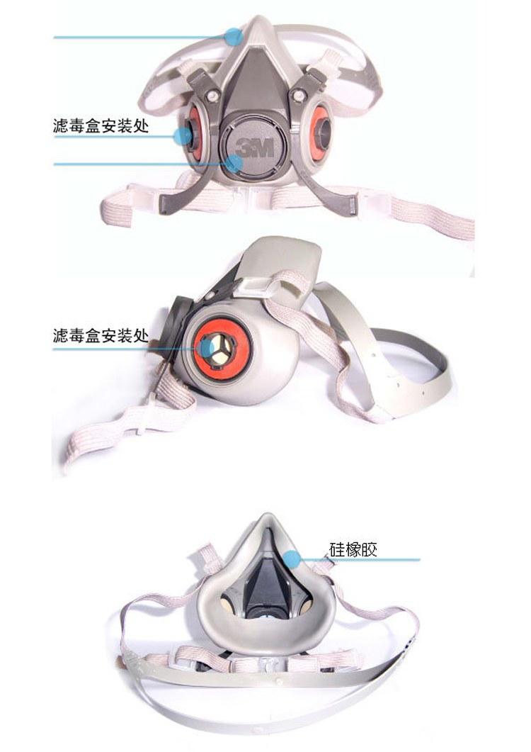 3M6200面具