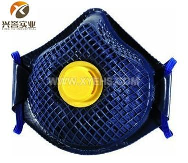 代尔塔活性炭无纺布防护口罩104202