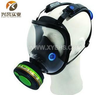 代尔塔硅胶防毒面具105008