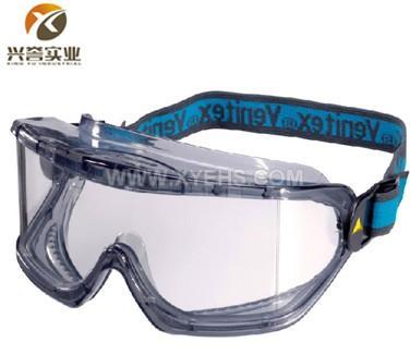 代尔塔101104透明PC防化防雾护目镜