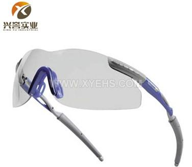 代尔塔101109运动款整片式透明防护眼镜