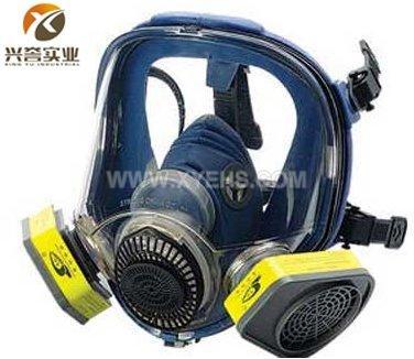M80-1硅胶大视野防毒面具