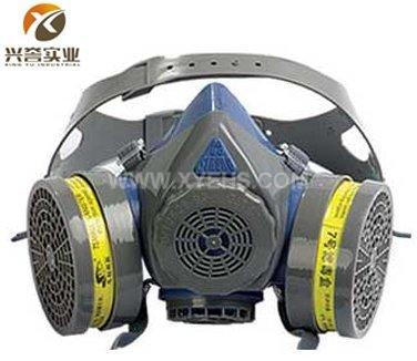 M60-1B硅胶双罐防毒面具