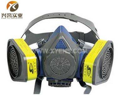 ST-M60G-3硅胶双罐防毒面具