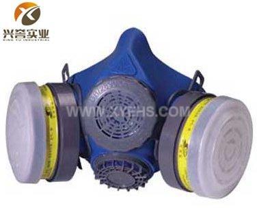 ST-M60-1B 硅胶双罐防毒面具