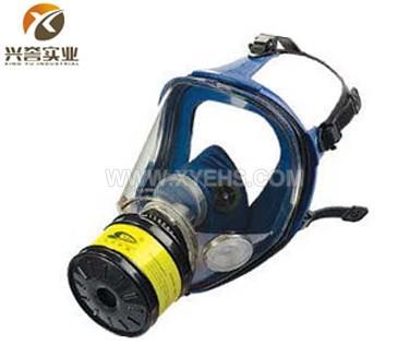 M80-2硅胶大视野防毒面具
