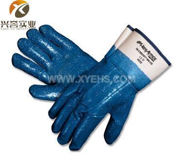 美国Hexarmor7090 丁腈颗粒涂层防穿刺手套