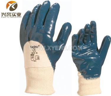 代尔塔201150重型丁腈涂层防护手套