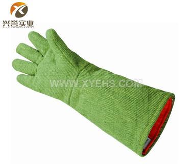 CASTONG 500度耐高温手套(绿色加长款)