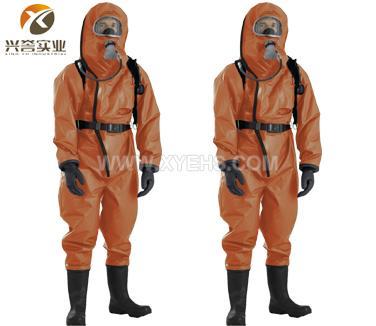 代尔塔401036外置气密重型防化服