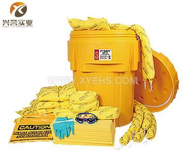 SYSBEL 95加仑泄漏应急处理桶套装(防化类)