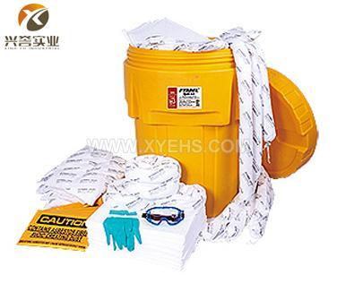 SYSBEL 95加仑泄漏应急处理桶套装(防油类)