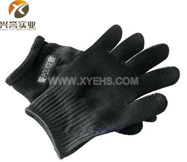 06标准警用防割手套/95黑色