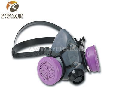 霍尼韦尔(诺斯)550030M橡胶防毒面具(半面罩)