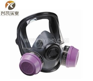霍尼韦尔(诺斯)54001/54001S双滤盒橡胶防毒面具(