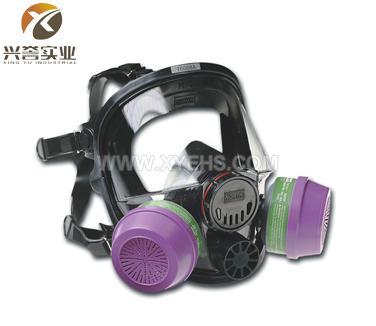 霍尼韦尔(诺斯)760008A/760008AS硅胶防毒面具