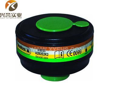 代尔塔 105135 ABEK综合型防毒面具滤罐(同款105
