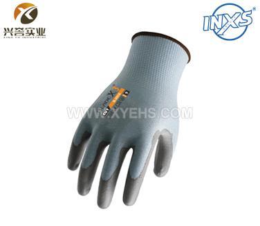 赛立特B-2018聚氨酯防切割手套(三级防护)