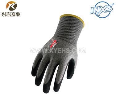 赛立特B-5009涂层丁腈防切割手套(五级)