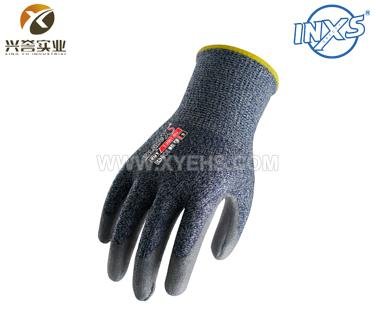 赛立特T-2007-BU涂层聚氨酯防切割手套(五级防护)
