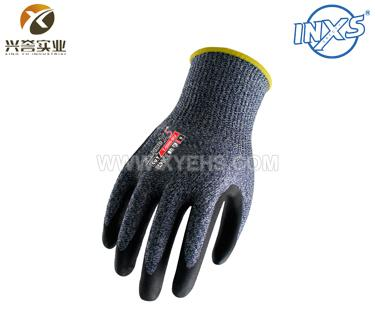 赛立特T-5000-BU涂层丁腈防切割手套(五级防护)