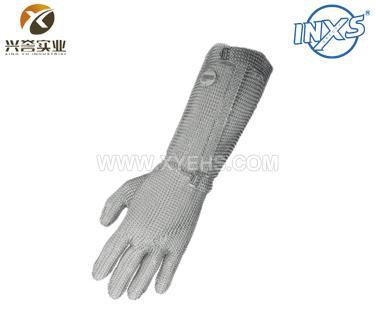 赛立特2000-190不锈钢环防切割手套(全钢金属钩扣)