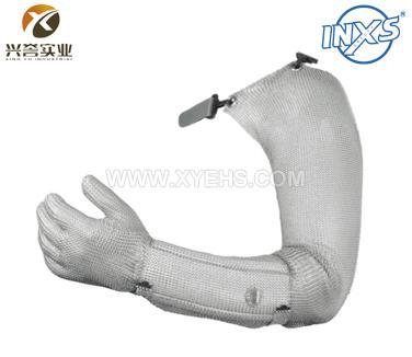 赛立特2000-FULL不锈钢环防切割手套(全钢金属钩扣)